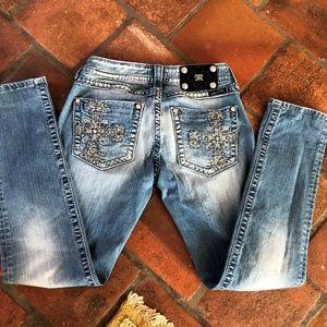 Miss Me Skinny Jeans sz 28 inseam 30
